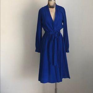 Dresses & Skirts - ROYAL VINTAGE WRAP DRESS